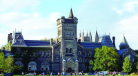 The University of Toronto is a public research university in Toronto, Ontario, Canada, situated on the grounds that surround Queen's Park. It was founded by royal charter in 1827 as King's College, the first institution of higher learning in Upper Canada. Originally controlled by the Church of England, the university […]