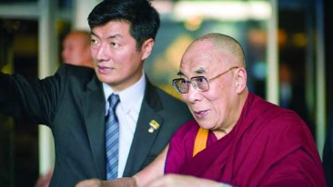 Interview with the Lobsang Sangay