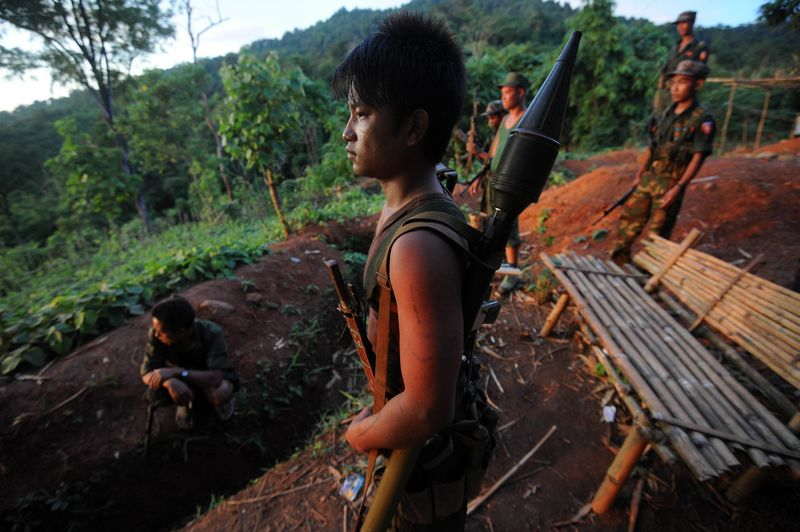 MYANMAR-RIGHTS-CONFLICT-FILES  STW355