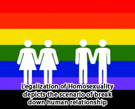 Legalization-of-Homosexuality-depicts-the-scenario-of-break-down-human-relationship